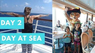 Cruise Life Day 2 | Full Day At Sea | RCCL Liberty Of The Seas