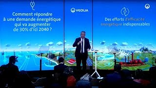 """Antoine Frérot presents """"The increase in the demand for energy"""" - Veolia"""