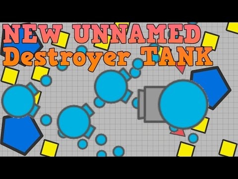NEW UNNAMED TANK: Destroyer Class | TESTING | Diep.io