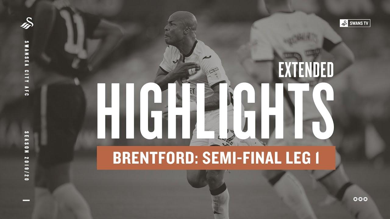 Суонси Сити  1-0  Брентфорд видео