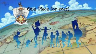 The most popular and wonderful song in one piece universe! enjoy it! :d