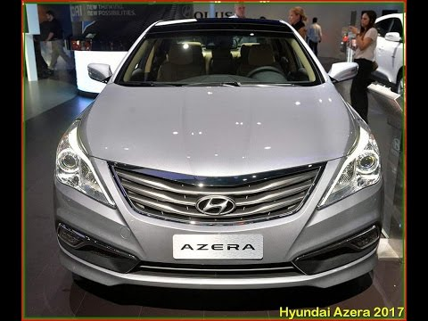 Hyundai Azera 2017 New Limited Review Interior And Exterior