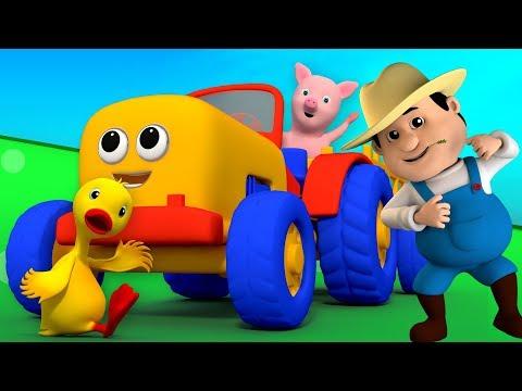 Old MacDonald tinha uma fazenda | compilação | crianças rima | Old Macdonald Had A Farm | Kids Songs