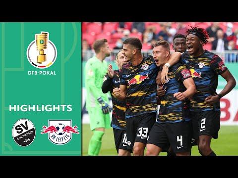 Sandhausen RB Leipzig Goals And Highlights