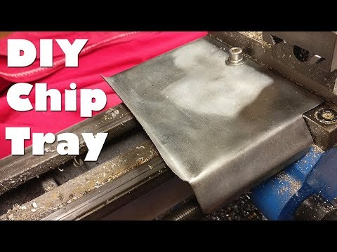 DIY Mini Lathe Chip Tray (Free Template Download)