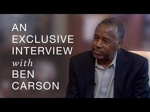 An Exclusive Interview with Ben Carson — 9/16/15