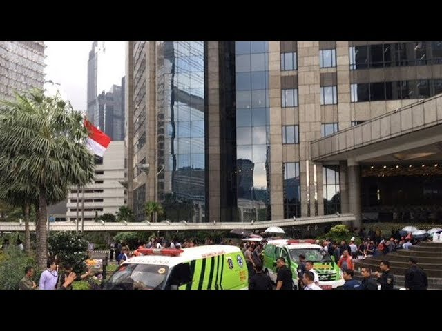 Scores injured after lobby floor of Indonesian stock exchange collapses