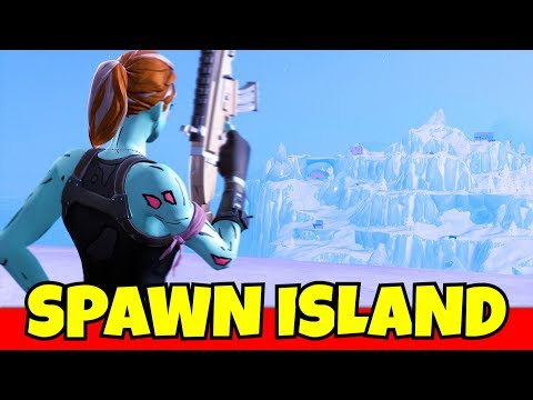 ONLY use spawn island weapons in fortnite... (difficult)