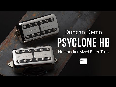Psyclone Humbucker-Sized Filter'Tron Pickups   Duncan Demo