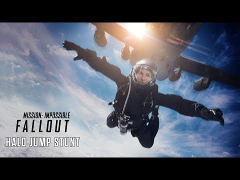Mission: Impossible  Fallout 2018  HALO Jump Stunt   Paramount Pictures