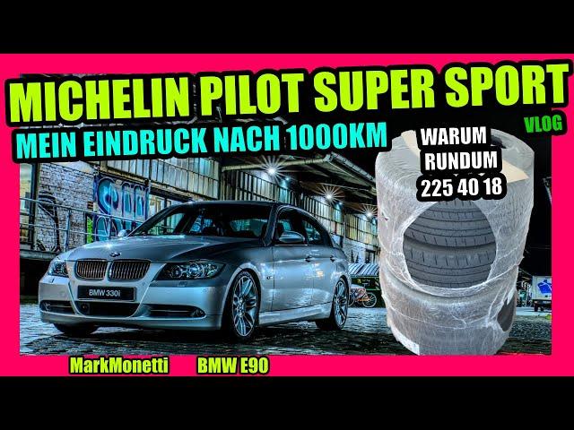Michelin Pilot Super Sport | Mein Eindruck nach 1000km | MarkMonetti