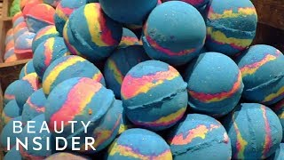 How LUSH Bath Bombs Are Made