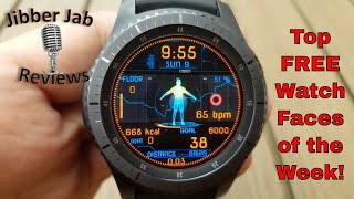 Download TOP FREE Must See & Must Download Samsung Galaxy Watch/Gear S3 Watch Faces! - Jibber Jab Reviews! Mp3