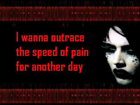 Marilyn Manson - The Speed of Pain (lyric)