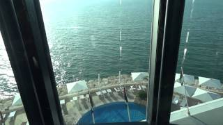 burj al arab elevator ride down