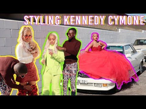 I STYLED KENNEDY CYMONE IN LA!!! |  LA TRAVEL VLOG PT. 2