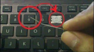 how to repair keyboard keys not working laptop