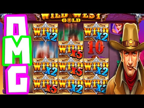 WILD WEST GOLD🤠ONE OF MY BIGGEST WINS🏆OMG LOOK AT THAT HIT SO MANY MULTIPLIERS THIS IS GONNA PAY‼️