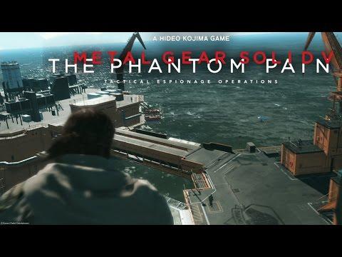 LA MADRE BASE (mother base) detalles, diseño, desarrollo | Metal Gear Solid V: The Phantom Pain