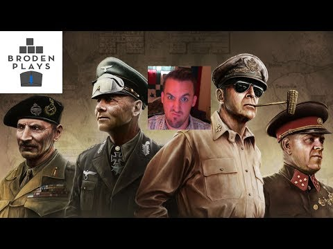 Hearts of Iron 4 Road to 56 Hitler Facial Stream