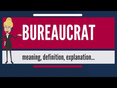 What is BUREAUCRAT? What does BUREAUCRAT mean? BUREAUCRAT meaning, definition & explanation