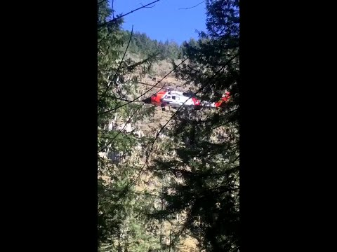 WATCH: Coast Guard rescues hiker in Gorge