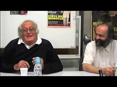 6e Salon des séries et du doublage : Georges Lautner 1
