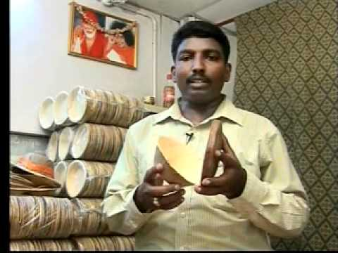 Ever Green Areca Plates.avi