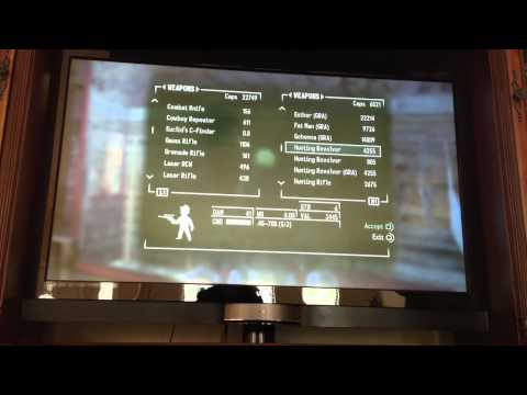 Fallout: New Vegas UNLIMITED CAPS AND REPAIR GLITCH!