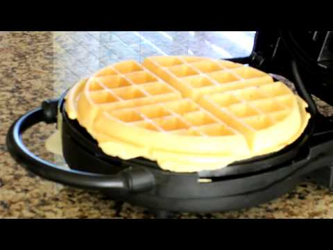 Super Easy Belgian Waffles with Self-Rising Flour