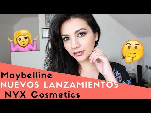 Probando Los Nuevos Productos de Maybelline y NYX Cosmetics ♥