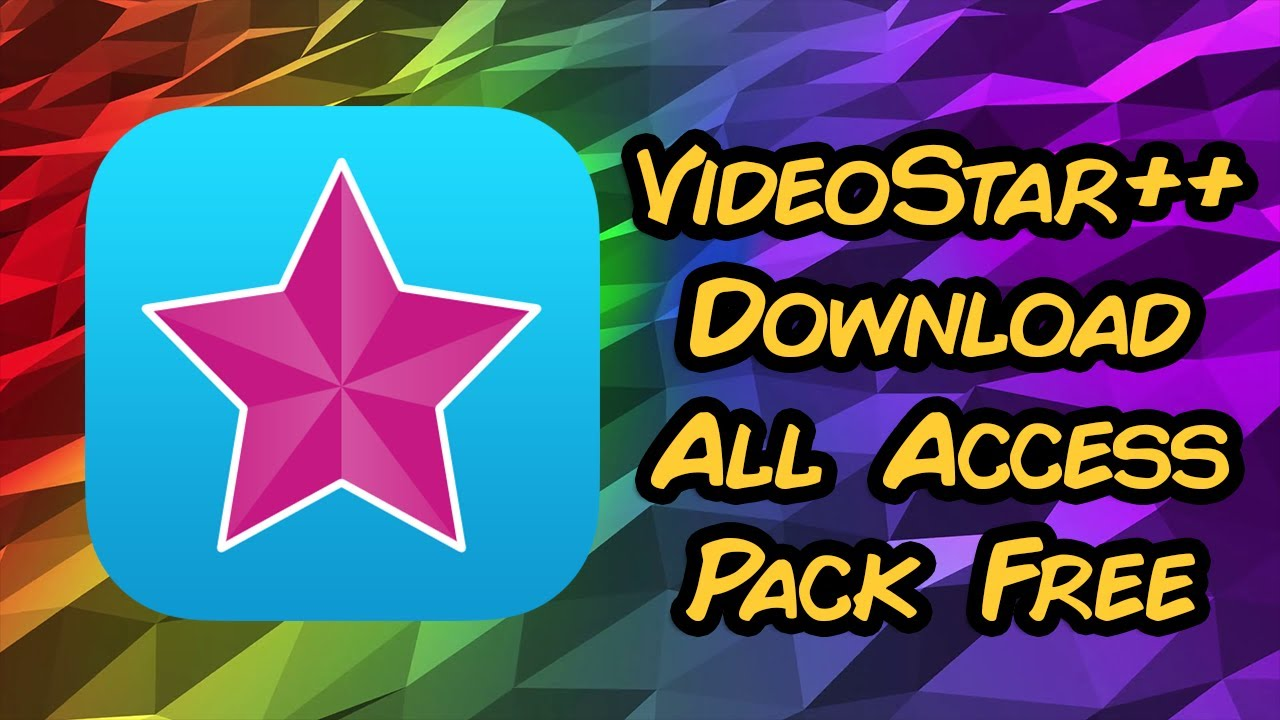 video star free packs download