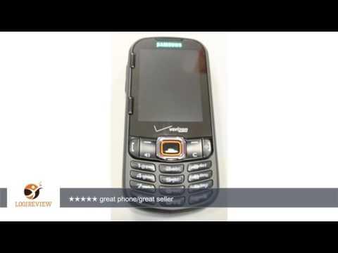 Samsung Intensity II SCH-U460 Black Verizon Cell Phone | Review/Test