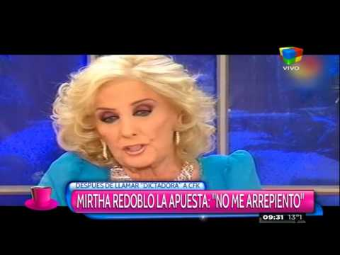 Mirtha recargada