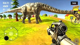 Dinosaur Hunter Dino City 2017 Android Gameplay #4