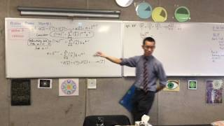 Proving Binomial Identities (6 of 6: Using Calculus to Prove Binomial Identities)