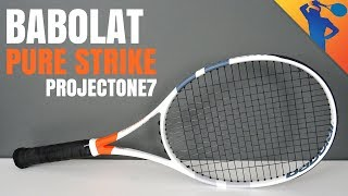 Babolat Pure Strike (ProjectOne7) Racket Review