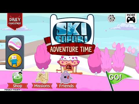 Grab Your Friends to Ski Safari: Adventure Time! The Best Adventure of your lives!