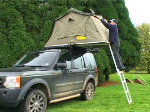 & APB Trading Ltd - Eezi Awn Series 3 Roof Tent (Part 1) - YouTube