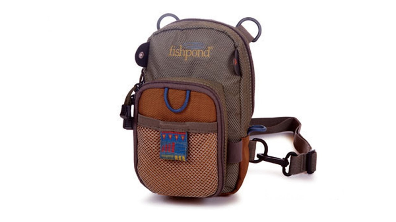 Fishpond san juan fly fishing chest pack youtube for Fishing chest pack