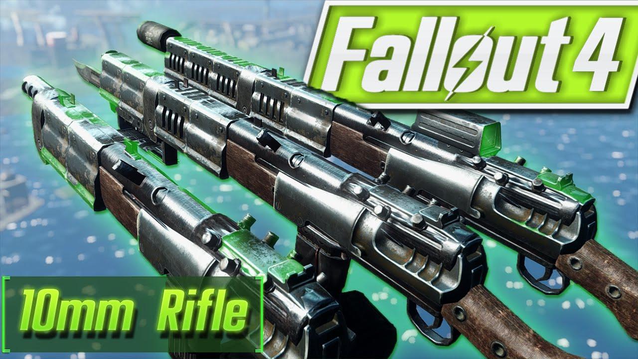 Fallout 4 Console Mods - 10mm Carbine Rifle (XBOX & PC) Fallout 4 Mods