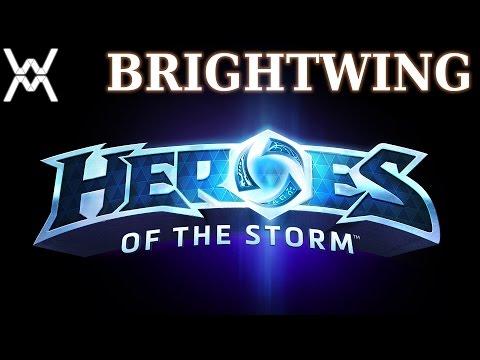 видео: heroes of the storm - Гайд - Светик / brightwing