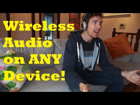 Wireless Music From Any Device - Bluetooth Transmitter Device