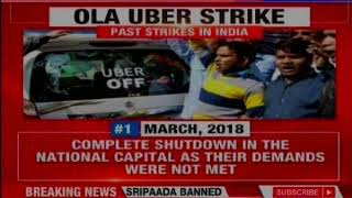 Ola-Uber Strike: Commuters in lurch; who'll break the stalemate?