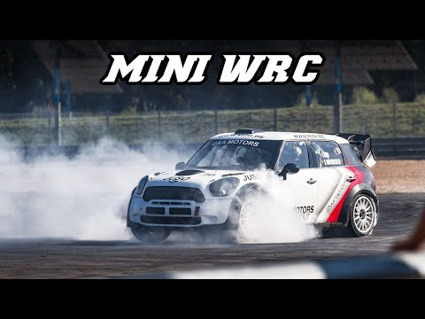 Please Enjoy This Mini WRC Car Go Nuts on an Open Race Track