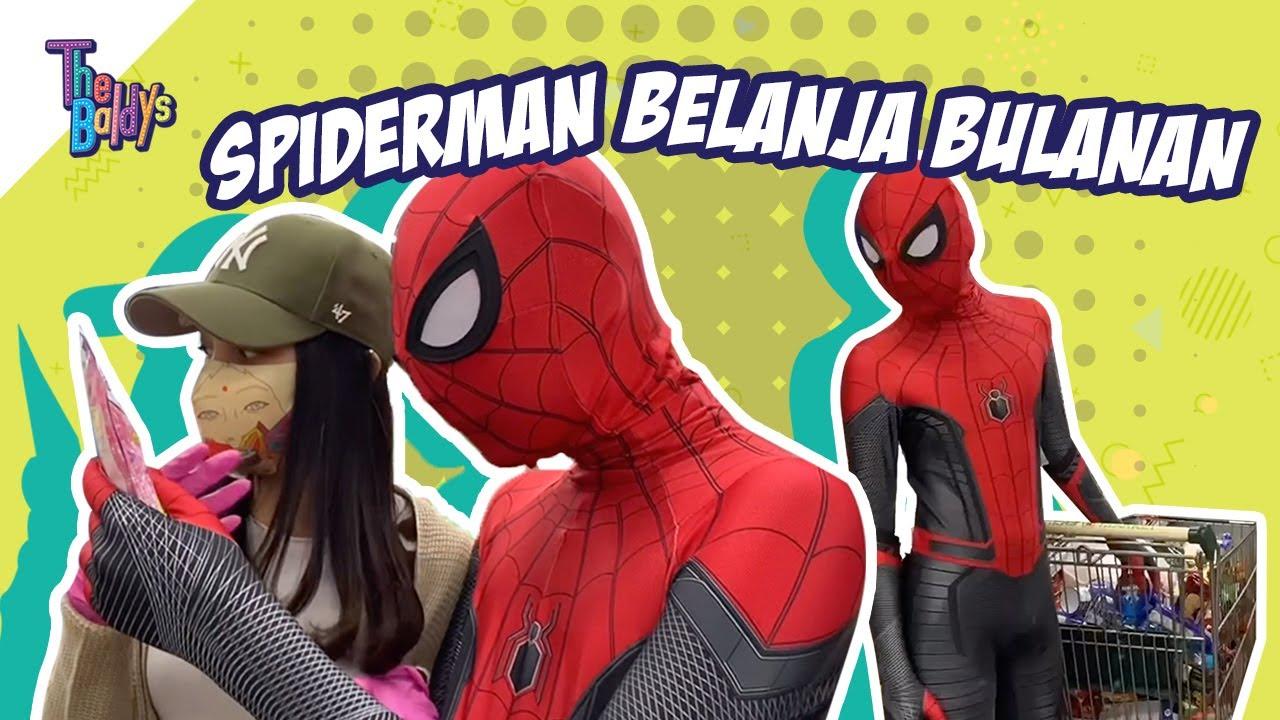 Spiderman VS Sembako - The Baldys