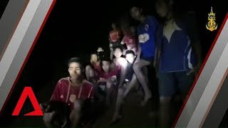Thai cave rescue: First video of boys found alive after 9 days in Tham Luang