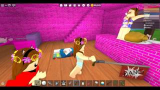 ROBLOX: Error Recording! We tried to record it at Pizza Place, but... Ft. Lulu, Mica and Lala