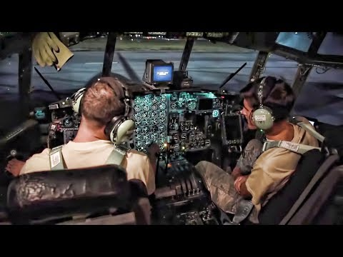 C-130 Operational Engine Check Prior To Takeoff