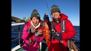 和歌山県は串本で広瀬達樹さんと釣女ちゃこが、前半はタイラバ&マイク...